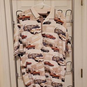 Classic cars golf shirt